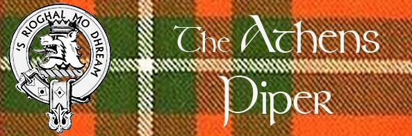 Athens Piper | Music of the Great Highland Bagpipe | Available throughout Georgia for Weddings, Funerals, and Special Occasions.